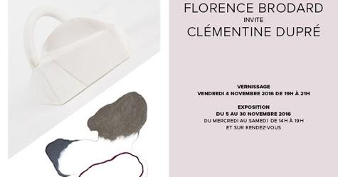 passion ceramique florence brodard invite cl mentine dupr 5 30 nov 2016. Black Bedroom Furniture Sets. Home Design Ideas