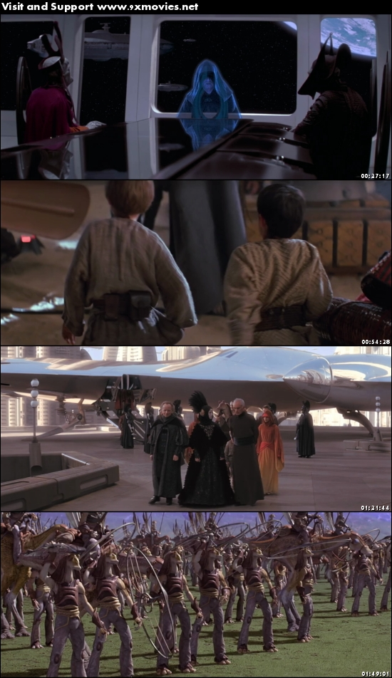 Star Wars The Phantom Menace 1999 Dual Audio Hindi 480p BluRay