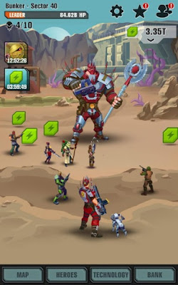 Evolution Heroes of Utopia v1.1.5 Apk-screenshot-4