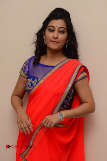 Actress Tejaswini Pictures in Saree at Pratikshanam Audio Launch  0001.JPG