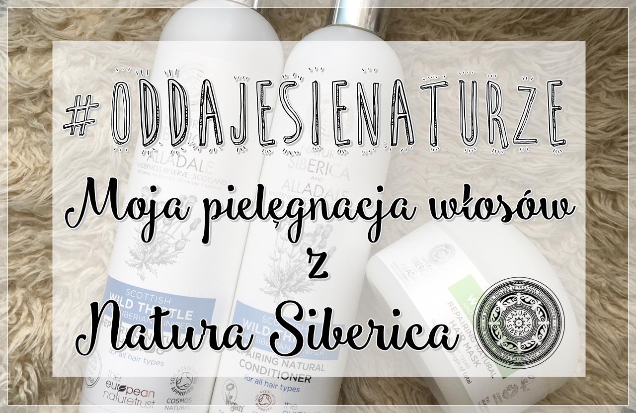 #OddajęSięNaturze, czyli moja pielęgnacja włosów z Natura Siberica