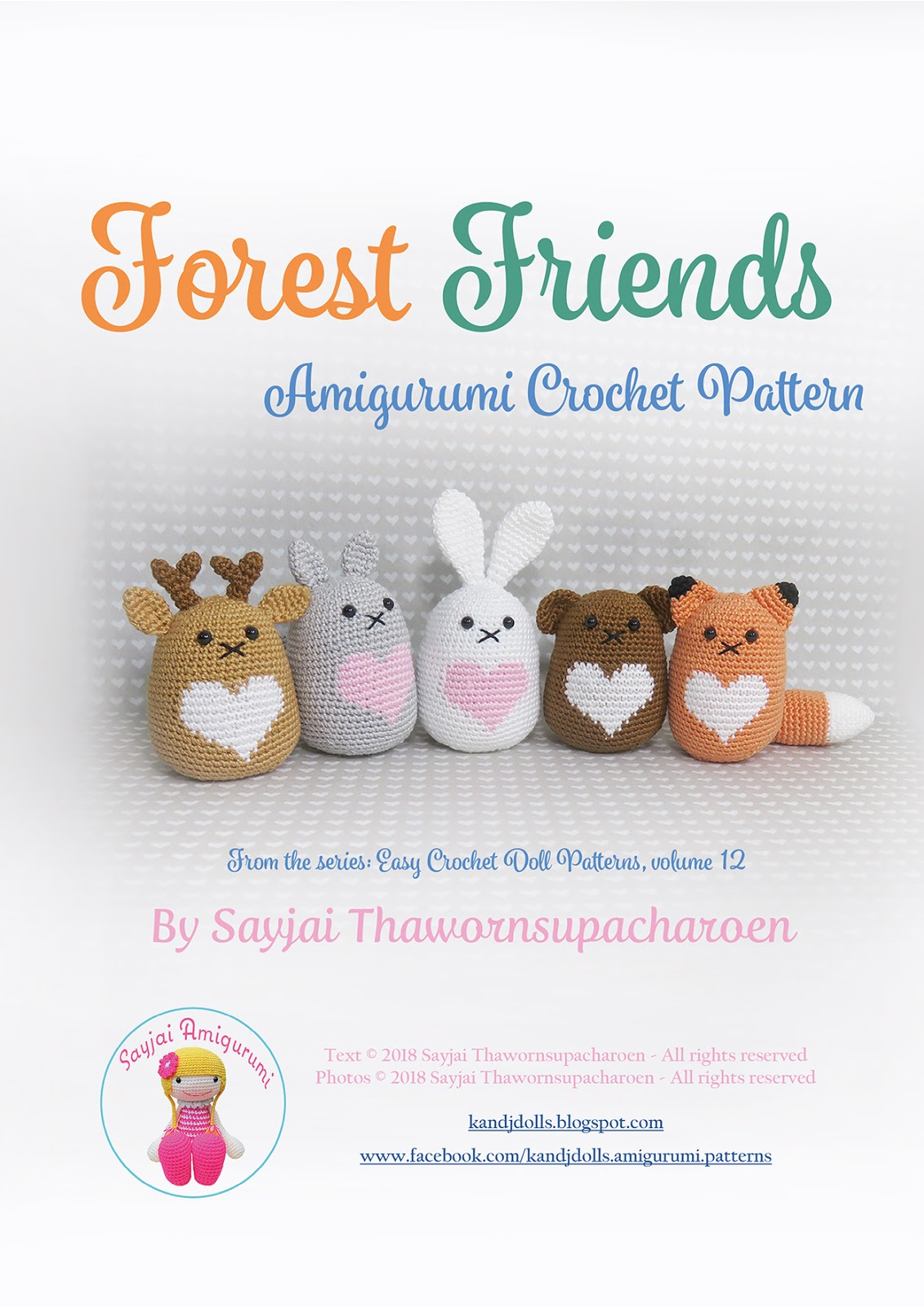 animal amigurumi to crochet pdf