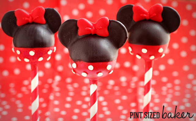 Mickey Mouse Cake Pops Orlando