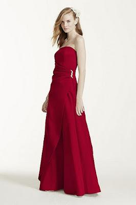 coleccion de Vestidos Rojos