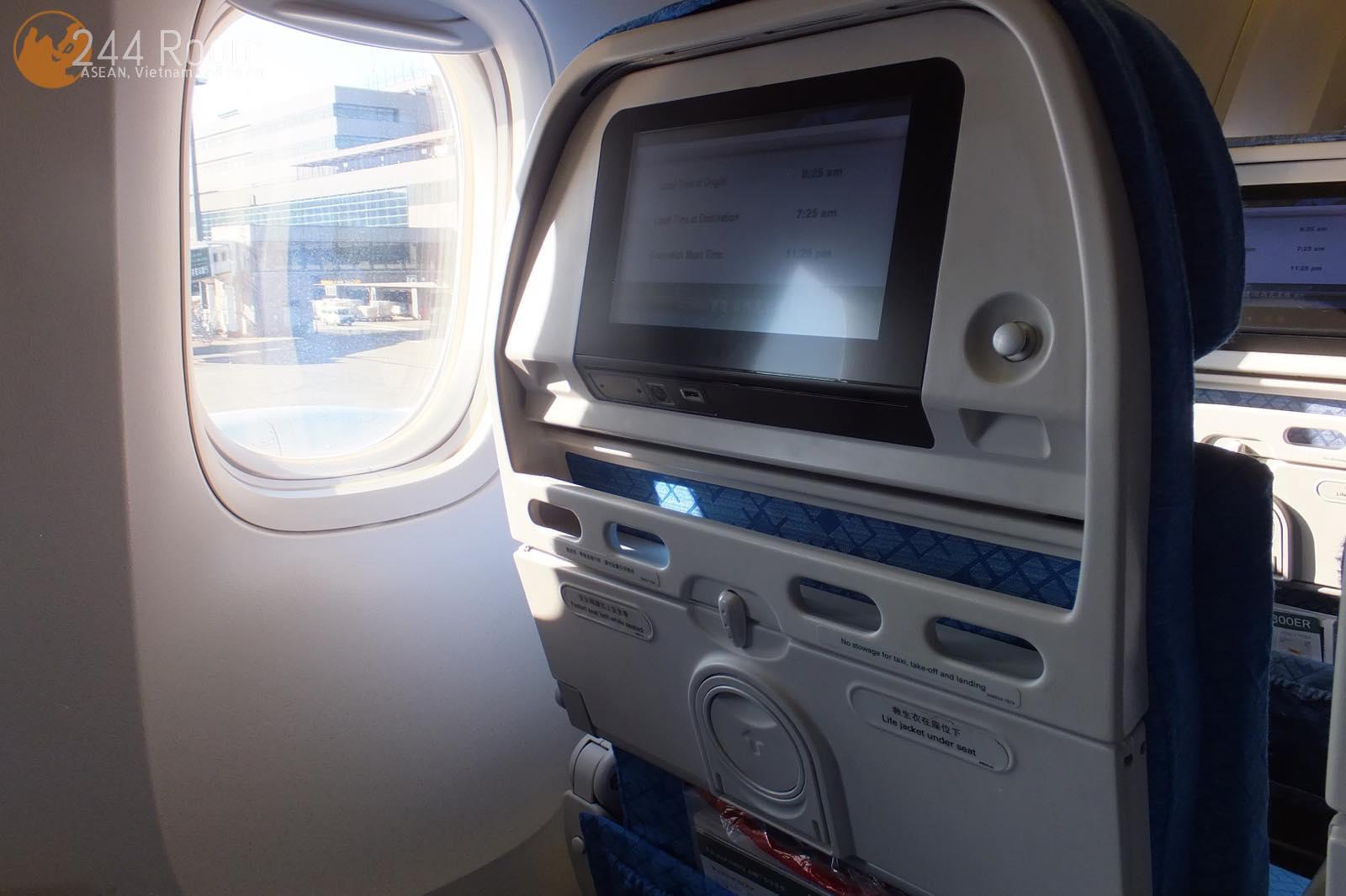 キャセイパシフィックエコノミー座席 CX-Economy-seat