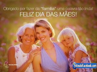 Cartão com frases para o  Dia das Mães grátis