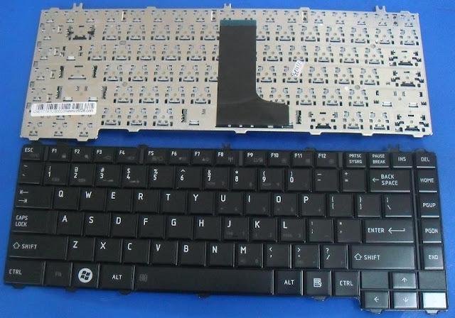 Kết quả hình ảnh cho Bàn phím laptop Toshiba satellite C640, C640D, C645, C645D