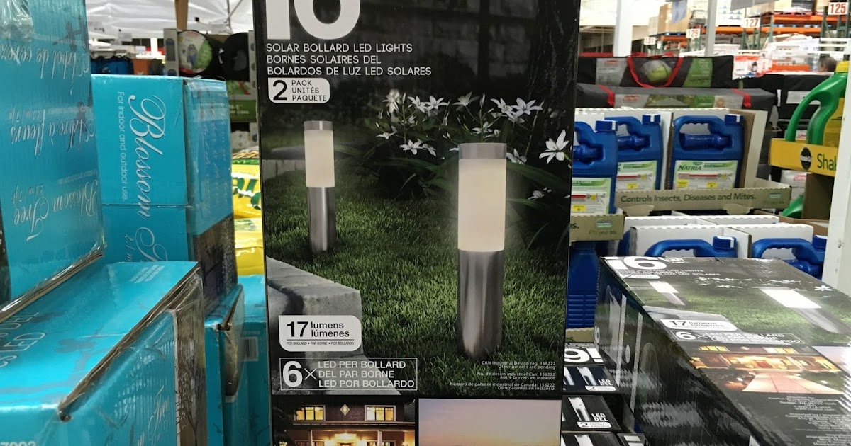 Artika I6 Solar Bollard Light 2 Pack Costco Weekender