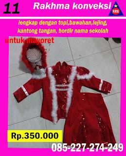 baju mayoret termewah merah