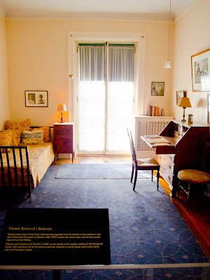 Eleanor Roosevelt Room at Springwood - Hyde Park NY