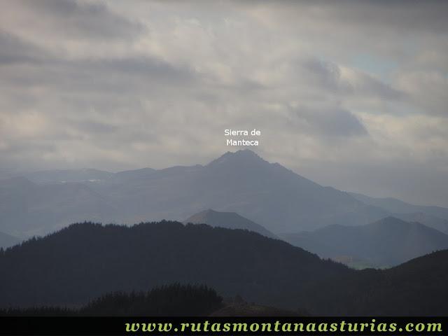 Vista de la Sierra de Peña Manteca