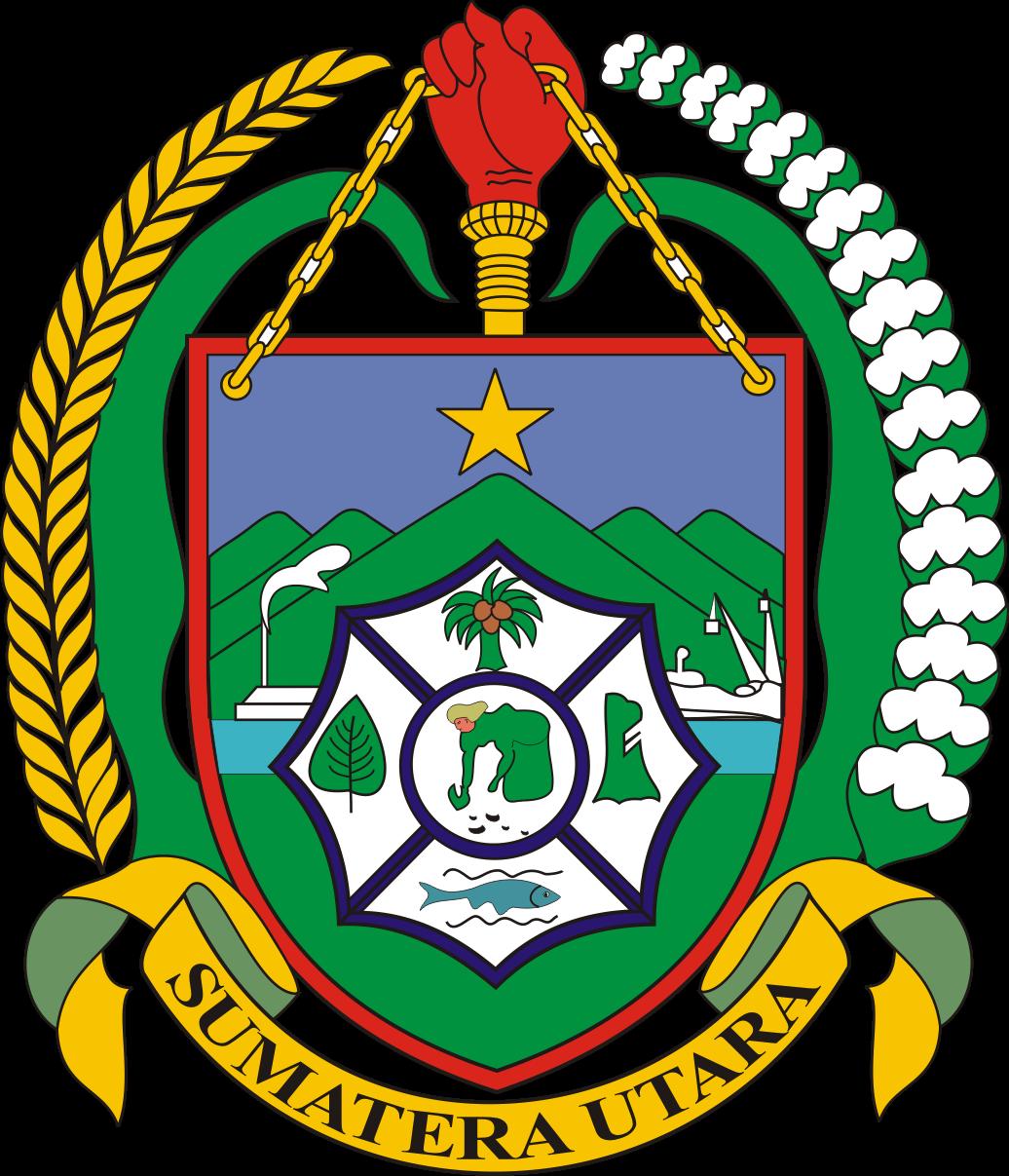 gambar logo provinsi sumatera utara
