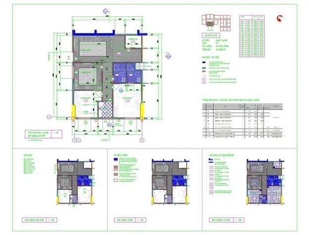 thiết kế căn hộ chung cư udic riversite