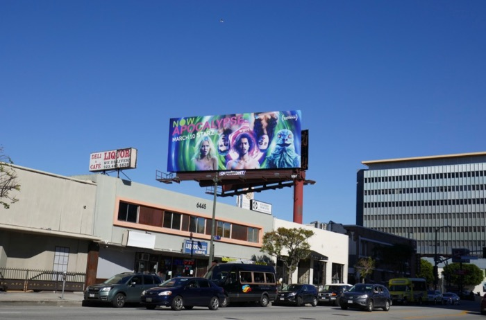 Now Apocalypse series billboard
