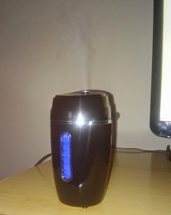 Mini umidificador de ar USB comprado no Aliexpress