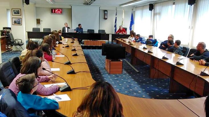 Συνάντηση μαθητών Δημοτικών Σχολείων με τον Δήμαρχο Ορεστιάδας