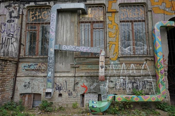 Kiovan veikeä näköalapolku Landskape Alley sopii lapsille ja aikuisille