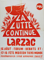 Affiche Larzac - Quand l'écologie politique s'affiche