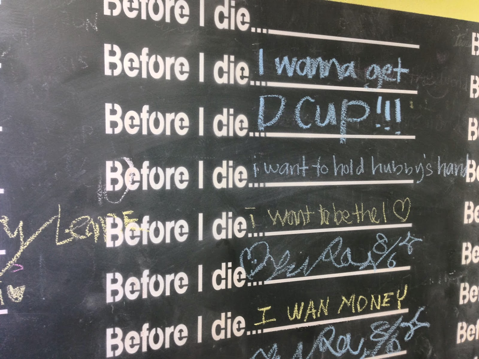D-Cup dying wish