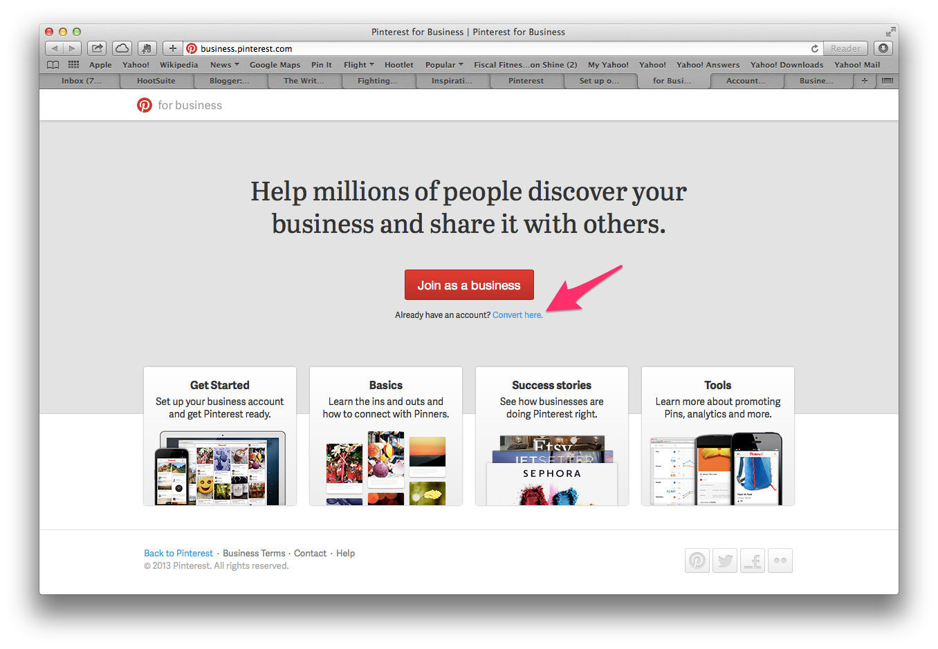 This Is What You Ll See When Go To Business Pinterest