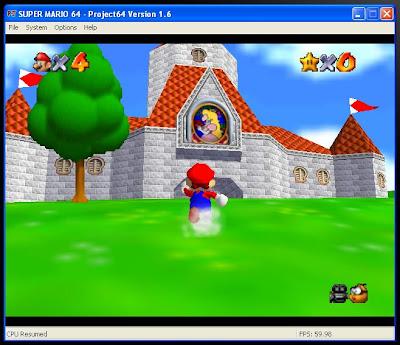 Super mario 64 rom nintendo 64 (n64) | emulator. Games.