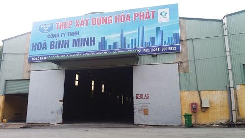 Đại lý sắt thép xây dựng Hòa Phát ở Biên Hòa, Đồng Nai