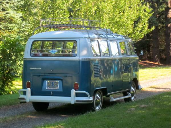 Outstanding survivor vw 21 window bus vw bus for 1966 21 window vw bus