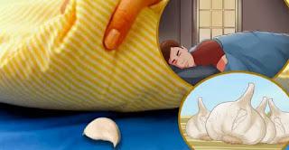 Garlic Under Pillow