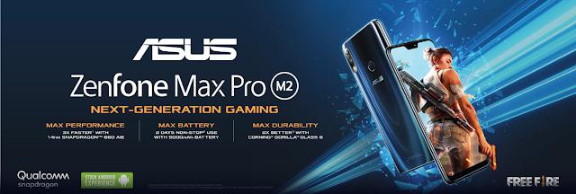 Spesifikasi dan Harga ASUS ZenFone Max Pro M2