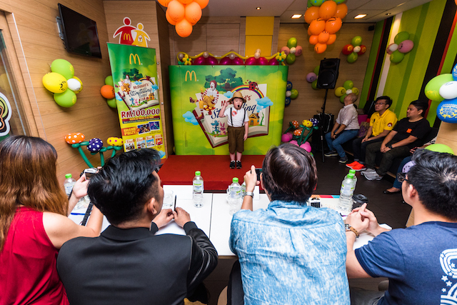 From the Judges' table - Live Audition McDonald's Storytelling Contest 2017