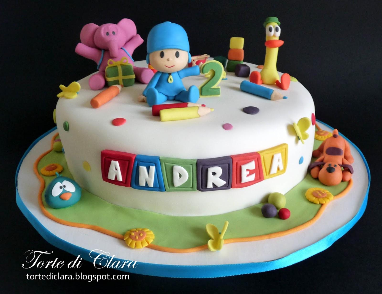 Torte Di Clara Pocoyo Cake