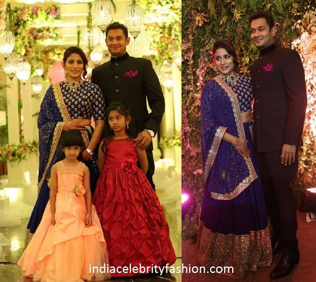 Sushmita Konidela Family at Sreeja's Wedding Reception