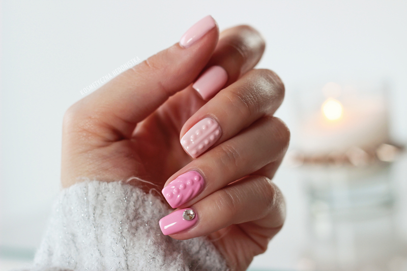 Hit Sezonu Sweterkowe Paznokcie Knit Nails Knitted Nails 3d