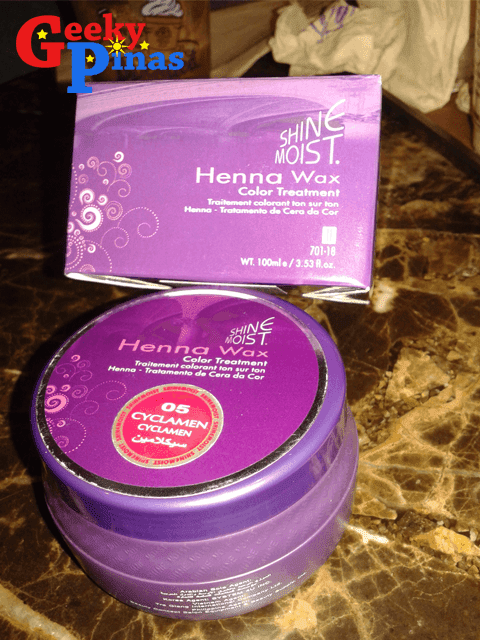 Shine Most Henna Wax