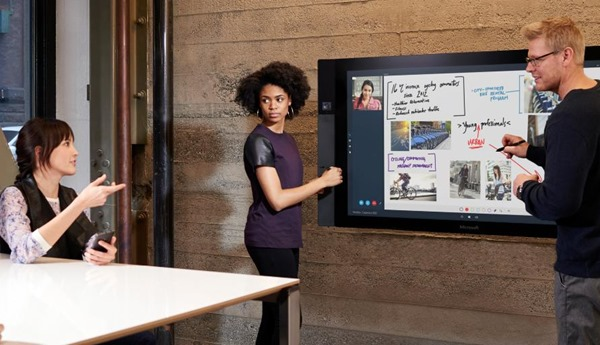 Microsoft Surface Hub officially announced