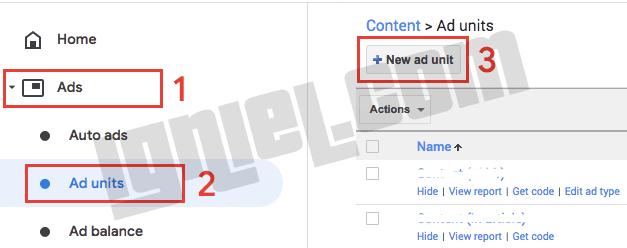 Membuat Unik Iklan AdSense Text Only