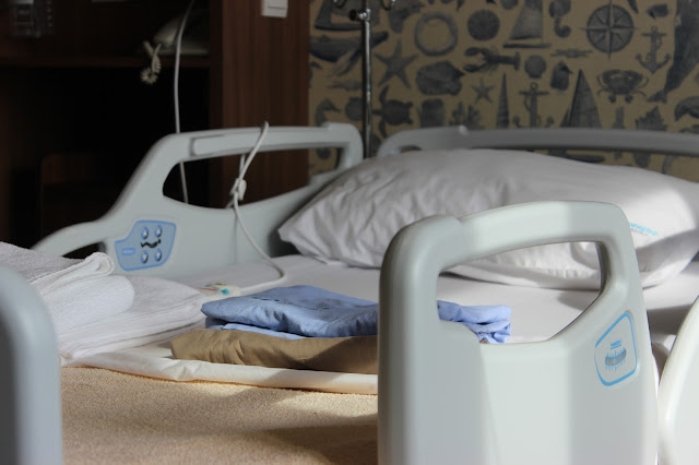 Ruang perawatan dan pakaian yang disediakan di Gleneagles Sabah