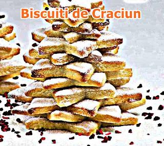 reteta biscuti de craciun dulciuri simple pentru masa de craciun