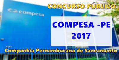 Apostila Compesa 2017 material de estudo.