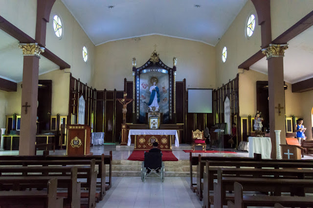 Interior Immaculate Conception Church