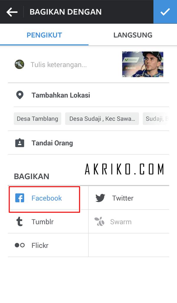 Cara Menautkan Akun Instagram ke Halaman Facebook