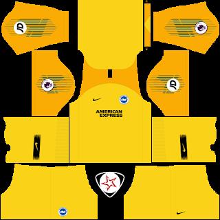 Brighton & Hove Albion FC 2018 - 2019 GK Away Kit