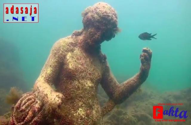 Baiae kota yang hilang di dasar laut di roma italia