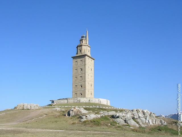 TOrre Hercules faro mas antiguo Galicia