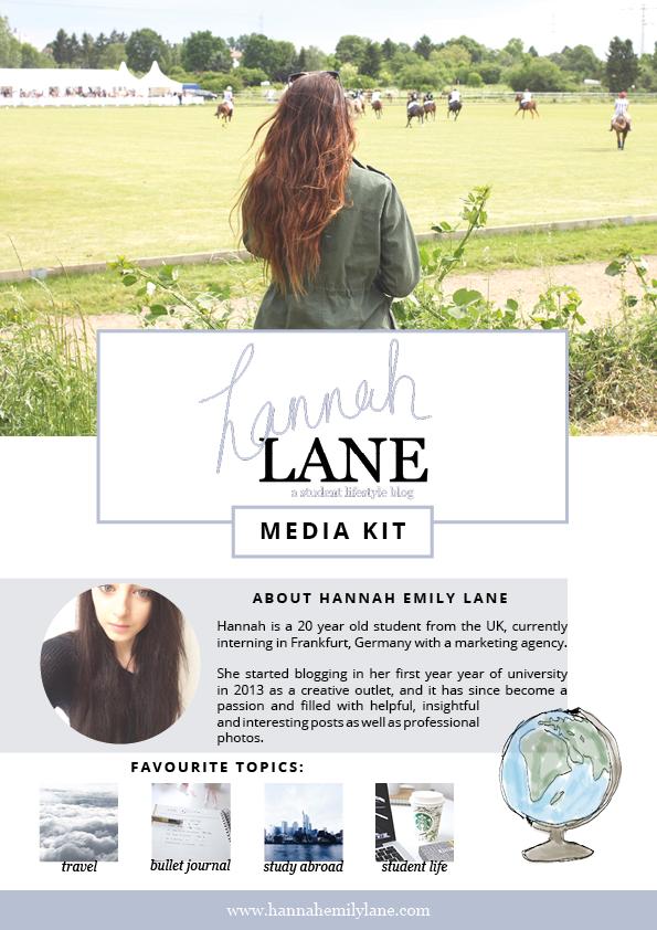 Hannah Emily Lane - Media Kit