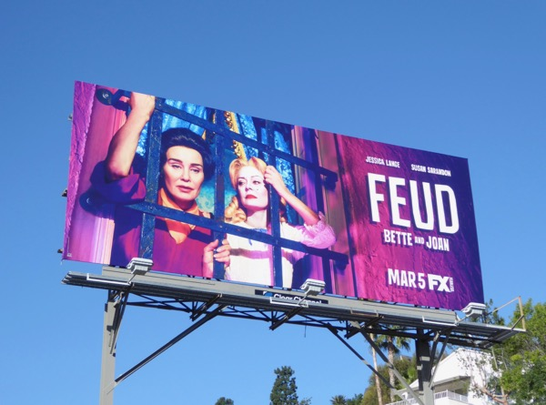 Feud Bette and Joan series premiere billboard