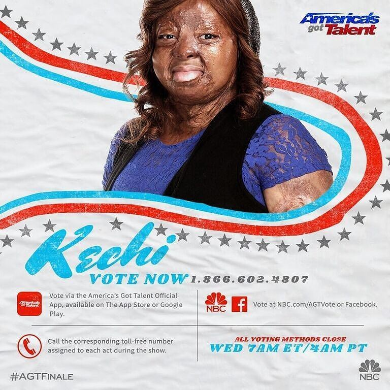 Kechi Okwuchi at America's Got Talent