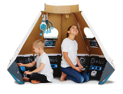 Makedo Space Pod Launch Kit