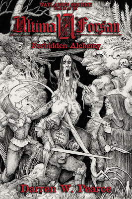 Ultima Forsan - Wayland's Secret #2: Forbidden Alchemy (Cover di Francesco Saverio Ferrara)