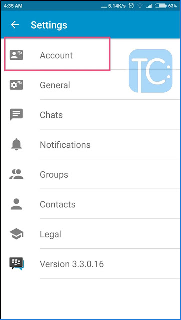 Cara Mengetahui Email BBM Android Yang Lupa